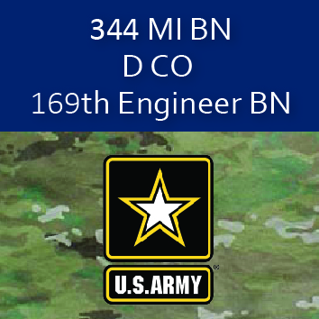 344th MI BN D CO 169th Engineer BN